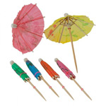 Drink Stirrers & Umbrellas