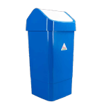 Swing Top Indoor Slimline Bin