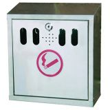 Wall Mounted Ashtray Stainless Steel 3 Litre