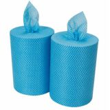 Wipes Lightweight 350 Sheet Rolls Blue