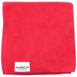 Catering Supplies Microfiber Cloths Red