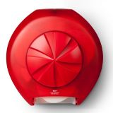Revolution 3 Roll Toilet Roll Dispenser Red