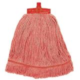 Stayflat Changer Mop Head Small 12oz Red With Scourer