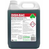 Dish-Bac Bactericidal Washing Up Liquid 5 Litre