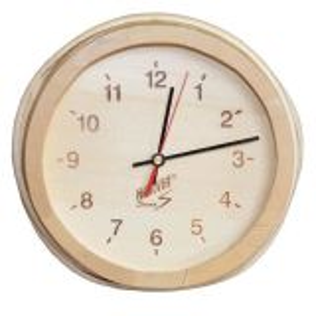 Harvia Sauna Clock Outside Cabin