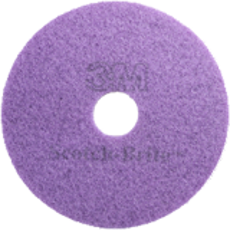 "3M Scotch-Brite Purple High Shine Diamond Pad 20"" 50cm"