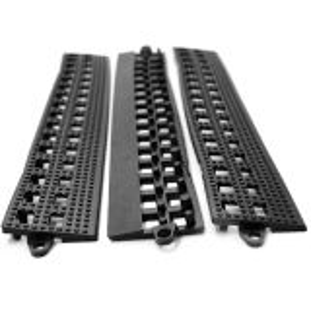 Leisure Safety Mat PVC F Edge Black
