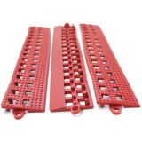 Leisure Safety Mat PVC F Edge Red