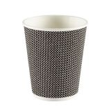 Premium Exclusive Black Ripple Paper Cup 8oz 237ml