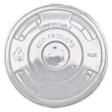 Compostable Clear PLA Flat Lid 16oz