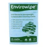 Natural Anti-bacterial Compostable Cloths Blue
