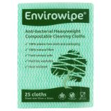 Natural Anti-bacterial Compostable Cloths Green