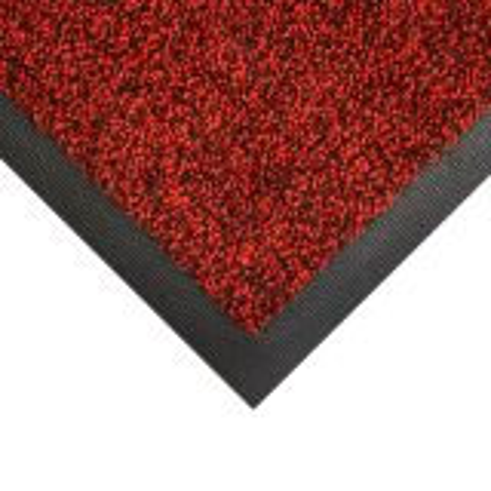"Coba Wash Washable Entrance Doormat Red 1.15m x 1.75m 69"""
