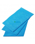 Catering Supplies Viscose Wipes Blue
