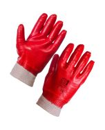 """Catering Supplies PVC Fully Coated Knitwrist Glove 10"""""""