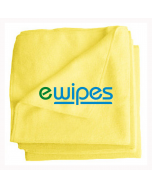 eWipe Microfibre Cleaning Cloths- Yellow Quantity: 5