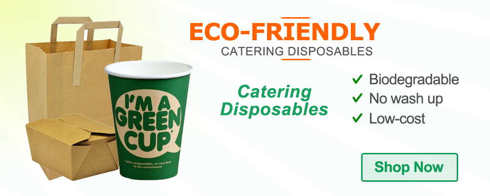 eco-friendly catering disposables
