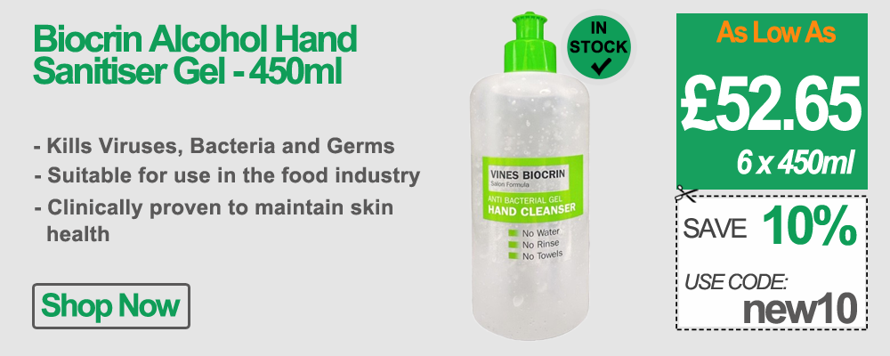Vines Biocrin Hand Sanitiser 450ml